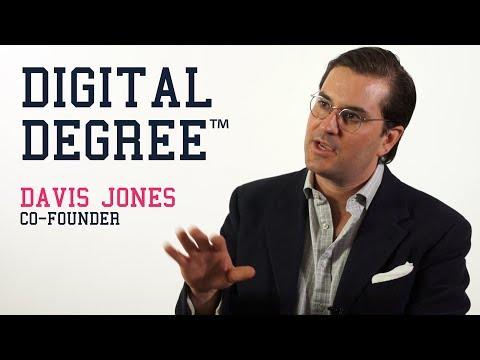 Davis Jones, Co-founder of the Digital Degree