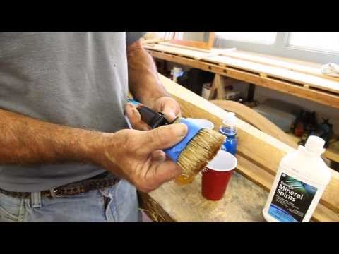 Cleaning Varnish Brushes