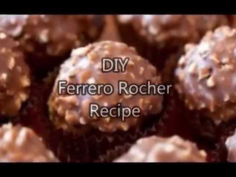 DIY Ferrero Rocher Recipe
