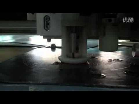 neoprene sheet rubber gasket cutting sample making machine