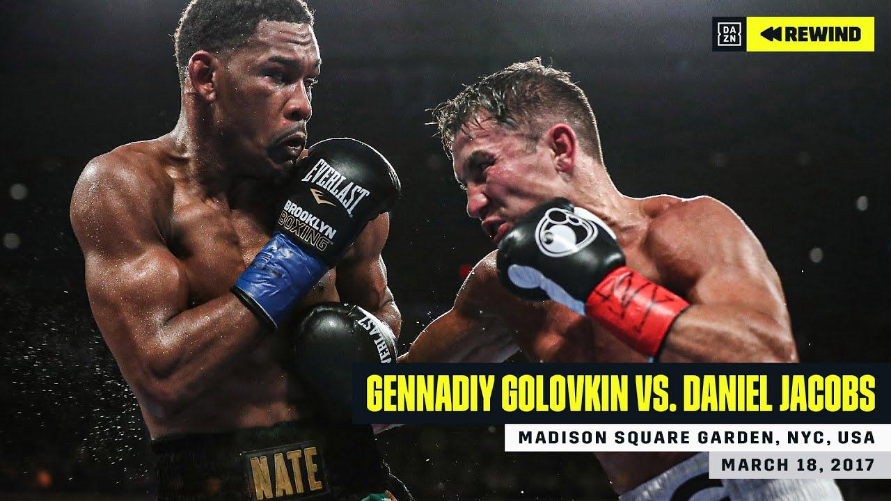 "FULL FIGHT   Gennadiy ""GGG"" Golovkin vs. Daniel Jacobs (DAZN REWIND)"