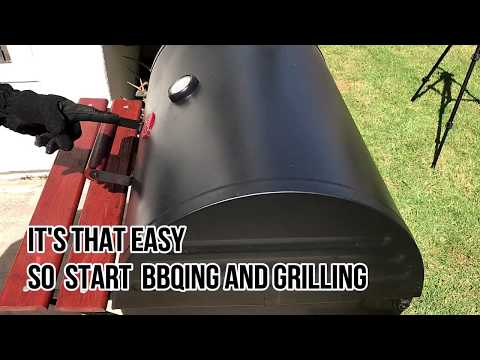 How to use and keep your BBQ Grill Clean in 33 Seconds