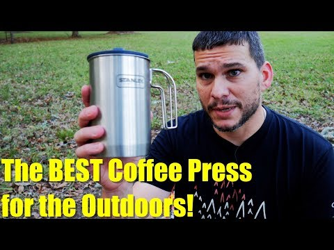 Stanley Coffee Press: Cook and Brew Kit - The BEST Camping Coffee Press?
