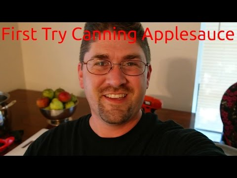 First Time Canning Applesauce