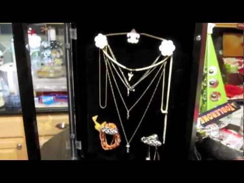 How to Make - Easy Elegant Gallery Jewelry Display Case