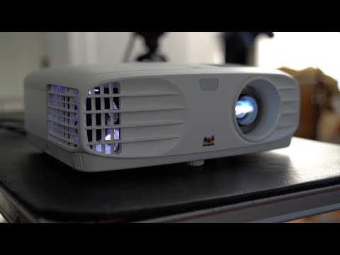 ViewSonic PX700HD 1080p Projector Unboxing!