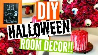 Diy Halloween Room Decor 3 Easy Affordable Ideas Epic Fail