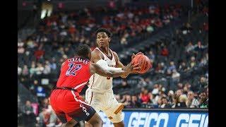 2019 Pac-12 Men's Basketball Tournament: No. 8 USC advances to quarterfinals with win over No. 9...