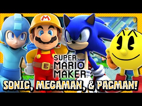 Super Mario Maker: Part 5 - Sonic, Megaman, & Pacman