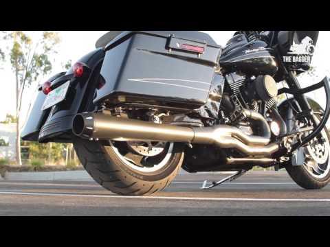 Sawicki 2 into 1 Exhaust System Sound Clip '06 Harley Dyna