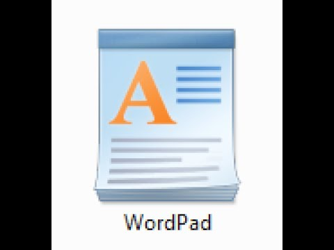Basic Computer: How to use wordpad (write application) in Hindi