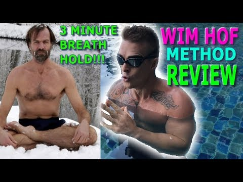 WIM HOF METHOD REVIEW **3 Min Underwater Breath Hold**