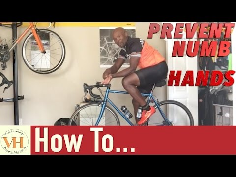 Prevent Numbness or Pain in your hands While cycling