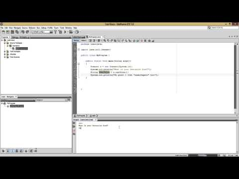 Java Basics | User Input - Using Scanner & JOptionPane
