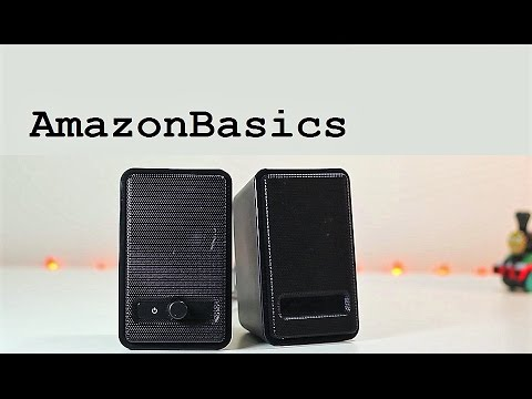 AmazonBasics USB Speakers A100 Review