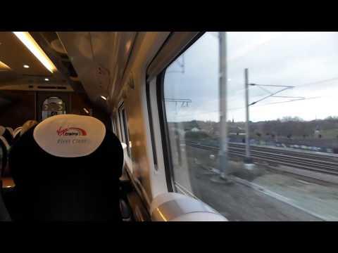 Leaving Birmingham New Street On A Virgin Trains Class 390 (14/11/17)