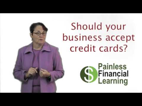 Should your business accept credit cards?