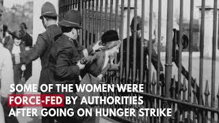100 year anniversary of (some) women winning the right to vote