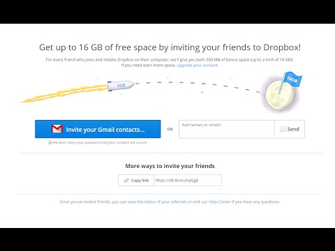 How to Get 16GB Free Dropbox Space