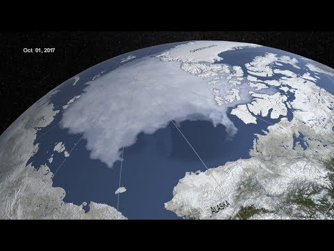 Arctic Sea Ice Continues a Trend of Shrinking Maximum Extents