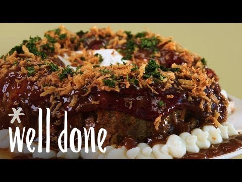 How To Make Meatloaf Bundt Cake   Classic Dinner With A Twist   Recipe   Well Done
