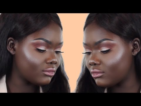 HOW TO MAKE EYESHADOW POP ON DARK SKIN