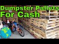 Scrapping pallets
