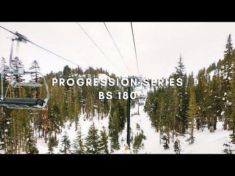 Backside 180 Snowboarding Progression - New Series!