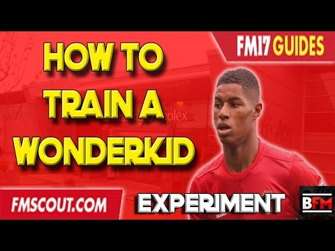 How To Train A Wonderkid Experiment - Football Manager 2017