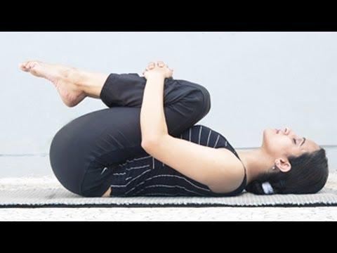 Pawanmuktasana - Gas Release Pose, Improving Digestion, Exercise for Slimming - English