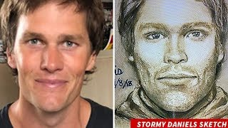 Porn Star Stromy Daniels Attacker Looks A LOT Like TOM BRADY