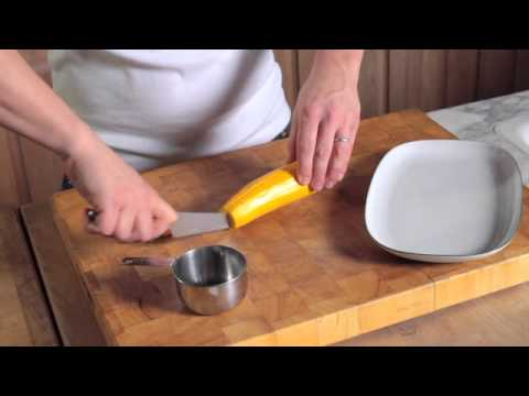 How to Chop Long Vegetables