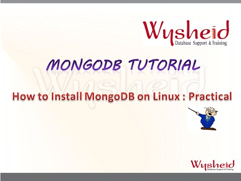 MongoDB  Tutorial: How to install mongodb in Linux practical