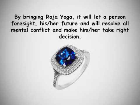Wear Blue Sapphire ( Neelam )  to Bring Raja Yoga in Your LIfe