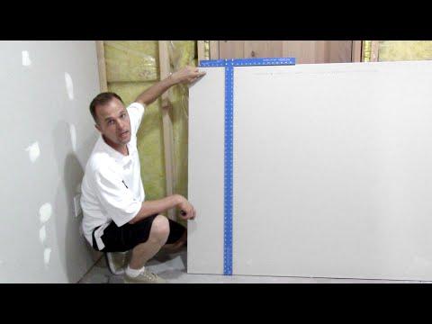 How to cut drywall / Sheetrock