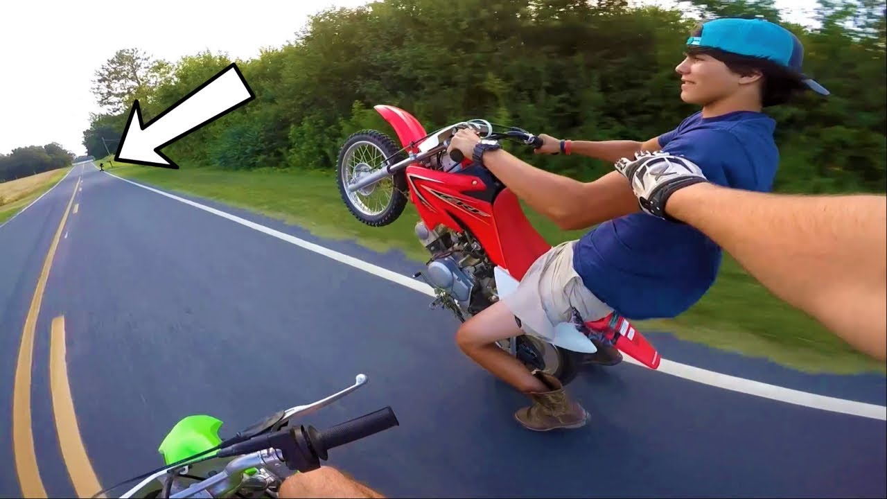 His WORST day ever. | Exploration on PIT BIKES!