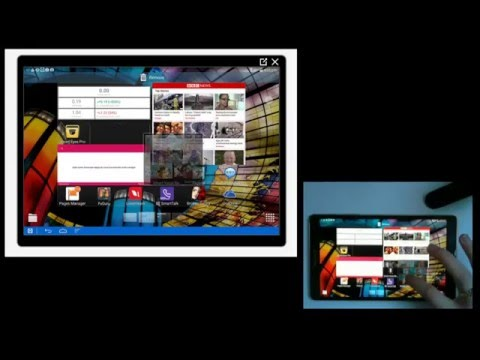 How to place widgets on a Samsung Tablet