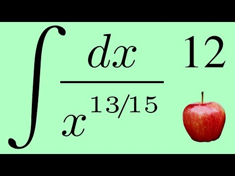 Calculus 2: The Integral of a Fractional Exponent in the Denominator by the Power Law