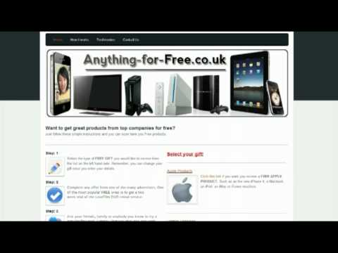 How to get a Free iPhone 4 and other great gifts.