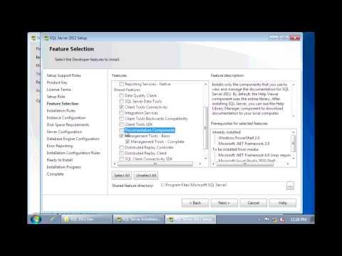 SQL Server 2012 - Installation step by step