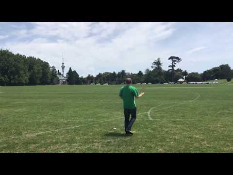 Homemade Plywood Boomerang - First Flight