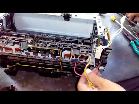 How to change teflon in hp p1007 printer