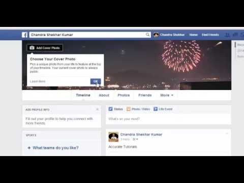 5 how to change profile picture or cover photo on facebook