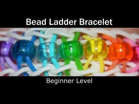 Rainbow Loom® Bead Ladder Bracelet