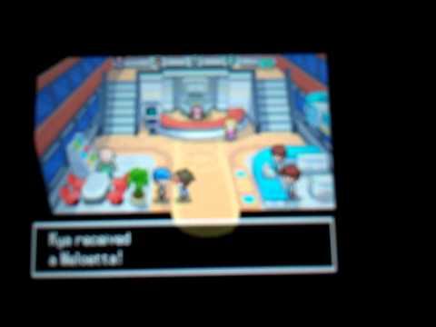Meloetta Pokemon Event Mystery Gift (Gamestop)