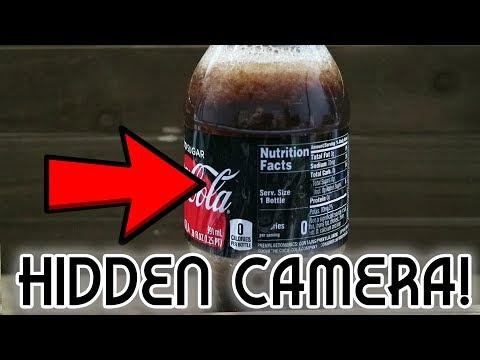 Secret Coke Bottle SPY CAM! - Weekend Hacker #1803