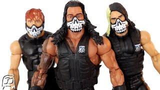 Roman Reigns, Seth Rollins & Dean Ambrose THE SHIELD Walmart Exclusive Elite Set Unboxing & Review!!