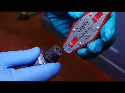 Aero Sport Power Spark Plug Gapping and Cleaning