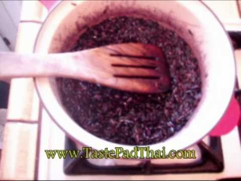 Cooking Black Rice Recipe for Salad and Side Dishes