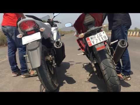 Yamaha R15s vs R15 V2 Exhaust sound